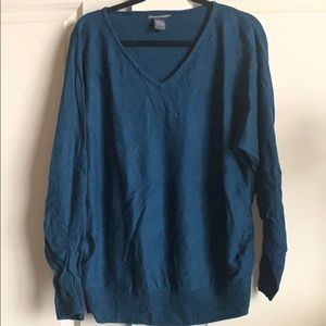 Teal sweater size xl